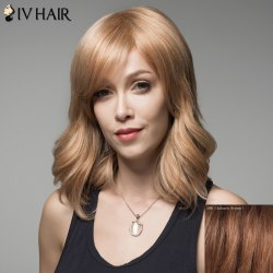 Fluffy Siv Hair Curly Human Hair Wig For Women -