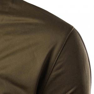 Stand Collar Rib Spliced Design Crown Pattern Long Sleeve Jacket For Men -