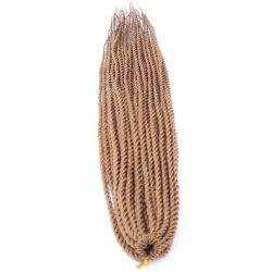 Fashion Long Synthetic Dreadlock Braided Hair Extension For Women - GOLDEN BLONDE