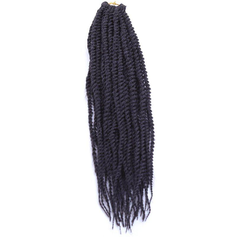 Fancy Fashion Long Synthetic Dreadlock Braided Hair Extension For Women