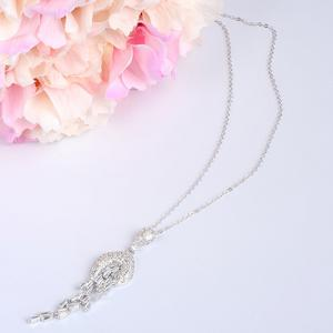 Gorgeous Exaggerate Rhinestoned Necklace For Women -