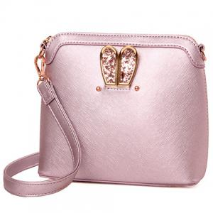 Elegant Solid Color and Sequins Design Crossbody Bag For Women