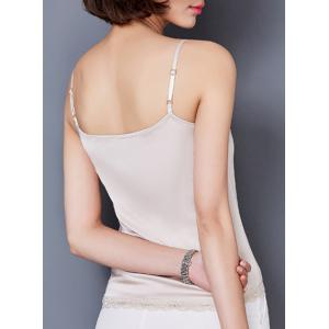 Lace Insert Camisole Cami Tank Top -