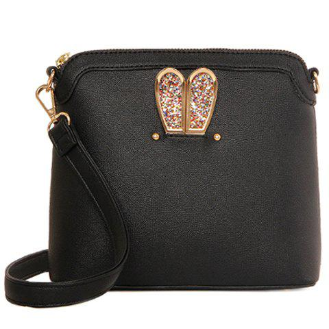 Latest Elegant Solid Color and Sequins Design Crossbody Bag For Women