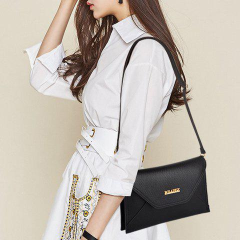 Fashion Fashion Cover and Solid Color Design Crossbody For Women -   Mobile