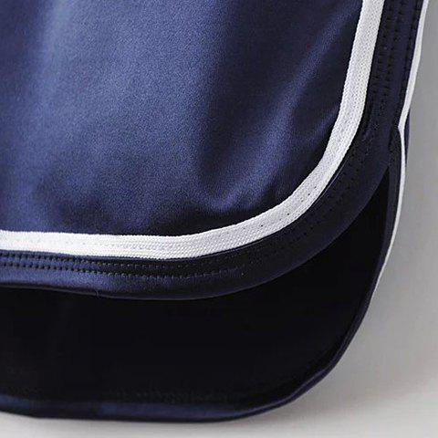 New Sporty Dolphin Running Shorts - BLACK M Mobile