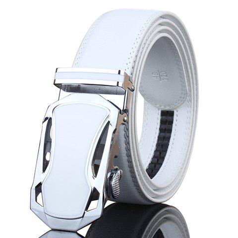 Buy Stylish Hollow Out Sports Car Shape Metal Buckle Wide Belt For Men