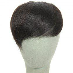 Brazilian Human Hair Fashion Natural Black Straight Side Bang