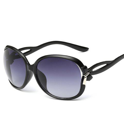 Tiny Bow Embellished Hollow Out Leg Affordable Polarized SunglassesACCESSORIES<br><br>Color: BLACK; Group: Adult; Gender: For Women; Style: Fashion; Shape: Square; Lens material: Resin; Frame material: Acetate; Frame Color: Multi-color; Lens height: 5CM; Lens width: 6CM; Temple Length: 13.5CM; Nose: 0.8CM; Frame Length: 14.3CM; Weight: 0.084kg; Package Contents: 1 x Sunglasses;