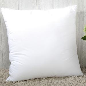 Fashion Solid Color Square Shape PP Pillow Inner (Without Pillowcase) - WHITE
