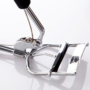 Stylish Magic Eye Stainless Steel Eyelash Curler with Silicone Pad -