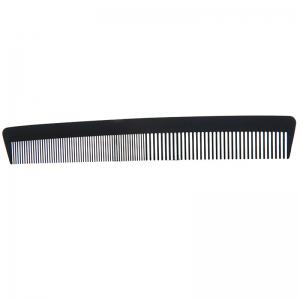 Stylish Hairdressing Carbon Fiber Anti-Static Dense Tooth Comb -