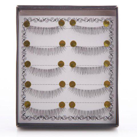 5 Pairs Natural Soft Handmade False Eyelashes