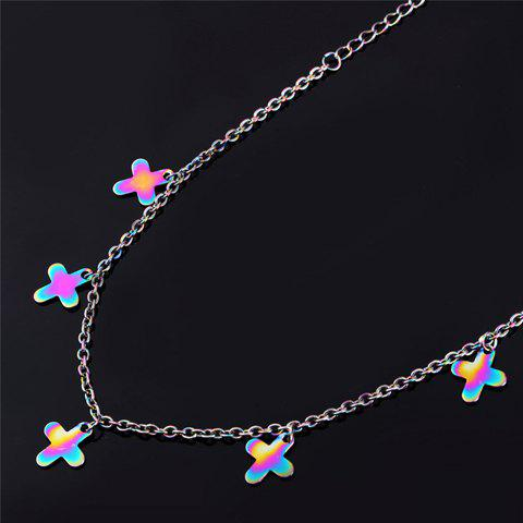 Best Sweet Colored Cross Anklet For Women - COLORMIX  Mobile