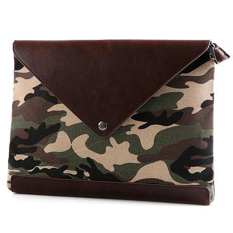 Best Stylish Covered Closure and Camouflage Pattern Design Clutch Bag For Men