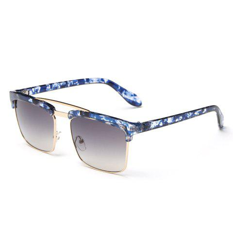 Buy Trendy Flecky Brow Quadrate Frame Sunglasses