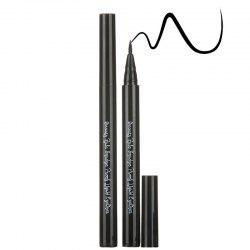 Stylish Long Lasting Smudge-Proof Waterproof Smooth Liquid Eyeliner Pencil - GUN METAL