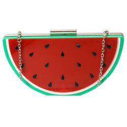 Sweet Hasp and Chain Design Evening Bag For Women -