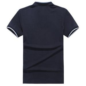 Slim Fit Short Sleeves Half Button Polo T-Shirt For Men -