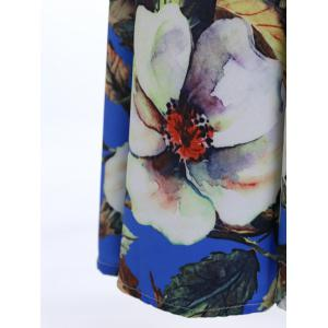Sweet Spaghetti Strap Floral Printed Maxi Dress For Women -