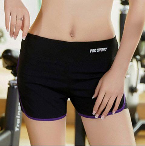 Fashion Elastic Multicolor Sport Running Shorts