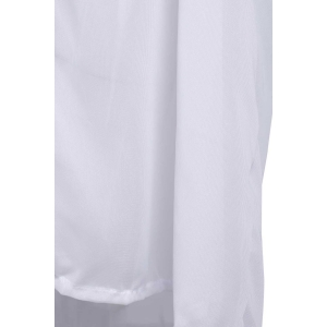 Sexy V Neck 3/4 Sleeve Spliced Loose-Fitting Women's Cover Up -