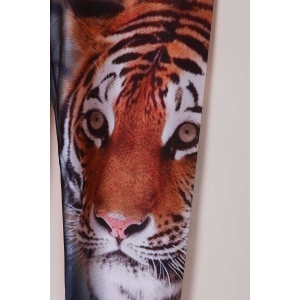 Chic Tiger Print High Stretchy Leggings For Women - TIGER PRINT ONE SIZE(FIT SIZE XS TO M)