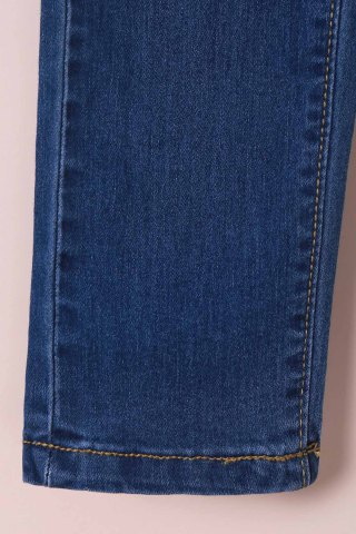 Cheap High-Waisted Tapered Jeans - M BLUE Mobile