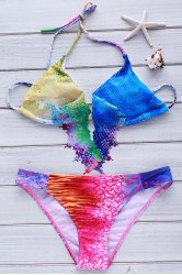 Women's Sexy Colorful Bikini Set Swimwear -