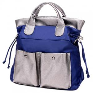 Leisure Splicing and Colour Block Design Tote Bag For Women -