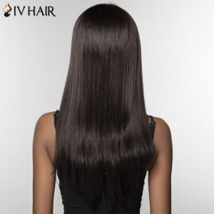 Fashion Siv Hair Long Full Bang Human Hair Wig For Women -