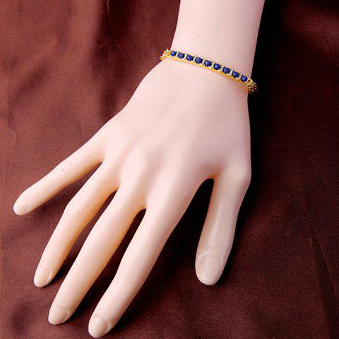 New Stylish Artificial Gem Decorated Beads Bracelet For Women