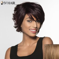 Siv Hair Curly Short Human Hair Wig For Women -