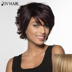 Siv Hair Curly Short Human Hair Wig For Women