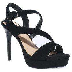 Platform Stiletto Heel Sandals