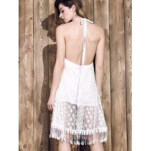 Backless Lace Cami Dress -