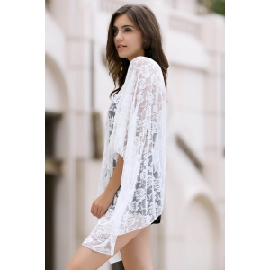 Sexy Loose Fitting Lace Cover Up For Women -