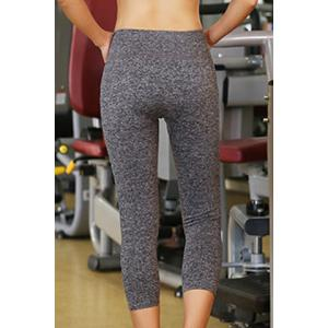 Active High Waist Stretchy Capri Sport Pants For Women -