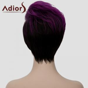 Adiors Fluffy Heat Resistant Synthetic Short Wig For Women -