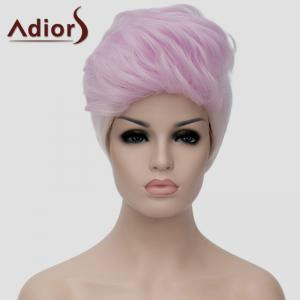 Adiors Fluffy Highlight Heat Resistant Synthetic Short Wig For Women -