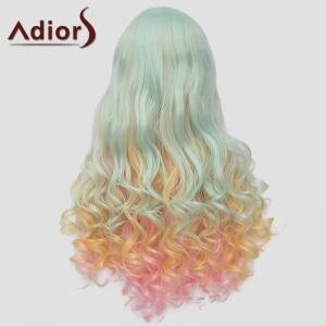 Fluffy Adiors Full Bang Heat Resistant Synthetic Long Wig For Women -