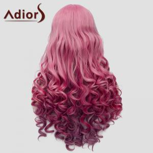 Fluffy Adiors Long Full Bang Heat Resistant Synthetic Wig For Women -
