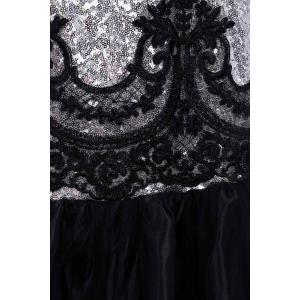 Sequin Sparkly Long Mermaid Prom Evening Dress -
