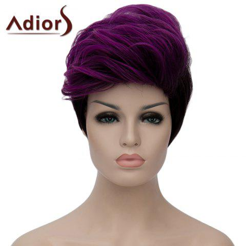 Unique Adiors Fluffy Heat Resistant Synthetic Short Wig For Women