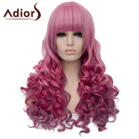Latest Fluffy Adiors Long Full Bang Heat Resistant Synthetic Wig For Women