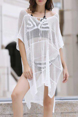 Trendy Sexy Loose Fitting Hollow Out Cover Up For Women