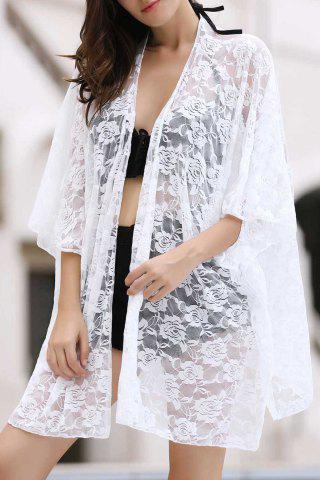 Shops Sexy Loose Fitting Lace Cover Up For Women