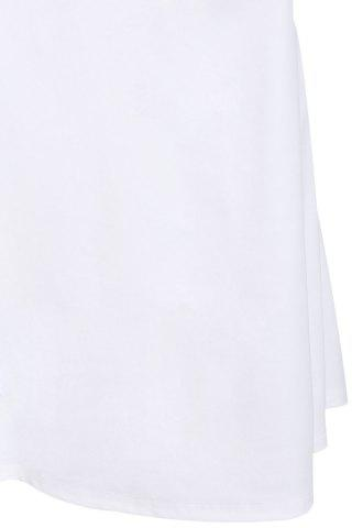 Trendy Off-The-Shoulder Short Sleeve Jersey Maxi Dress - XL WHITE Mobile