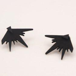 Punk Irregular Geometry Shape Stud Earrings