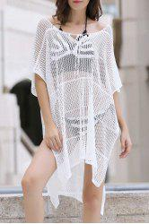 Sexy Loose Fitting Hollow Out Cover Up For Women -